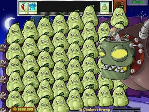 SQUASH PARTY VS DR ZOMBIE HACK  PLANTS VS ZOMBIES