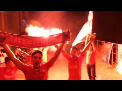 Kopites Bigreds Batam after watch LIVERPOOL v Arsenal score 5-1