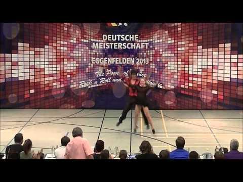 Carolin Steinberger & Tobias Planer - Deutsche Meisterschaft 2013