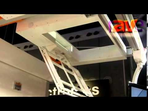 ISE 2013: UniTech Demonstrates the Flat Panel Ceiling LIft