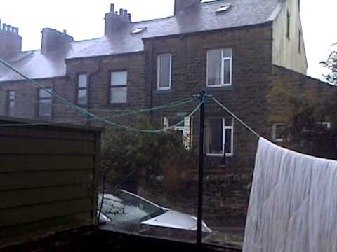 Strong wind and Rain before st jude storm hits the UK