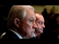 Sessions hearing threatens to overshadow Trumps agenda