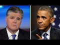 Hannity: Will the press ever ask Obama about wiretapping?