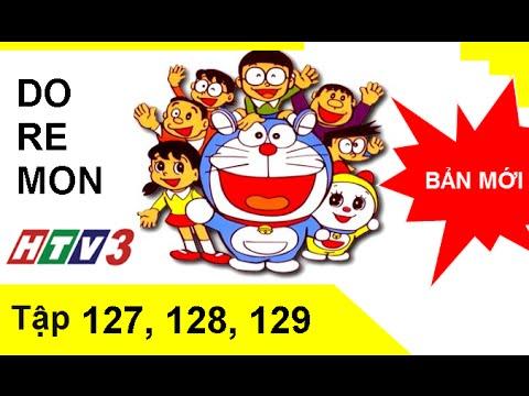 Phim hoạt hình Doremon Tiếng Việt HTV3 Tập 127,128,129