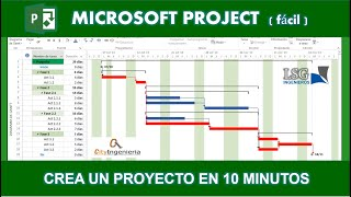 Ms Project 2013 Crea Un Proyecto En 10 Minutos