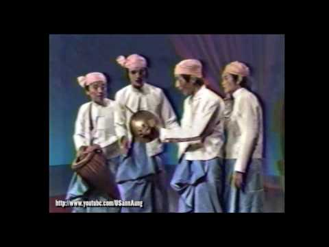 "#01 Maung Myit Tar & Group ""Ta Khaing Lone Shwe A Nyein"" on Myanmar TV"
