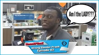 Public Pranks - Gender Bender 2 - HaanZFilmZ