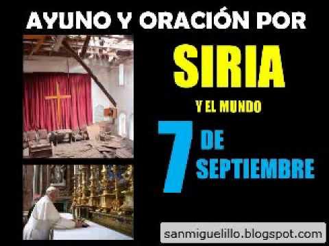 Guerra llama Guerra: Oración y ayuno por la paz en Siria y el mundo el 7 de sep - Radio Vaticana