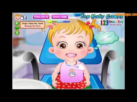 Baby Hazel Dental Care Game - Bé Hazel đi khám nha khoa