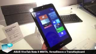 ASUS VivoTab Note 8 (M80TA), VersaSleeve E TransKeyboard