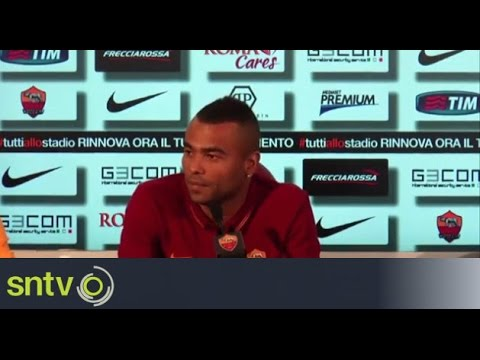 Ashley Cole looking to win the league with Roma