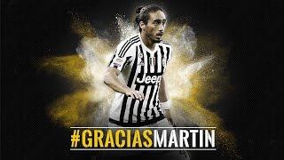 Gracias Martin - La Juventus saluta Martin Caceres