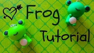 Polymer Clay Frog Tutorial