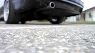 Звук выпуска двигателя BMW M57D25