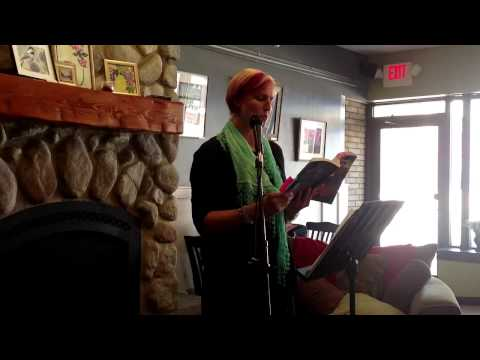 Jody Brown reads at the Black Sheep Coffee Cafe in St Paul, 2013