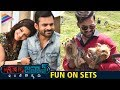 Sai Dharam Tej Jawaan Movie Fun On Sets- Mehreen..