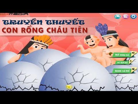 Con Rồng cháu Tiên - Truyện dân gian hay cho bé - Phim hoạt hình Việt Nam hấp dẫn