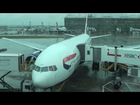 British Airways First Class - London to New York Newark [HD]