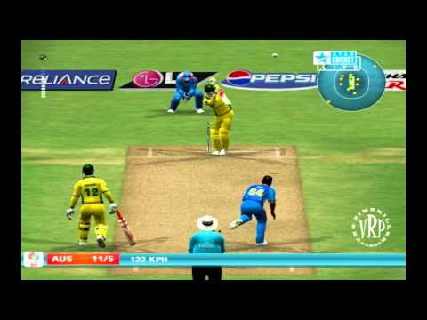 India vs Australia: Ea Sports Cricket 2007 Knockout Cup Semifinal - Part 2