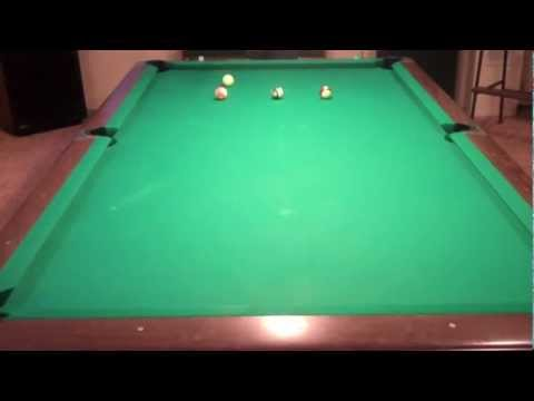 Billiard Lessons - The Long Draw Shot