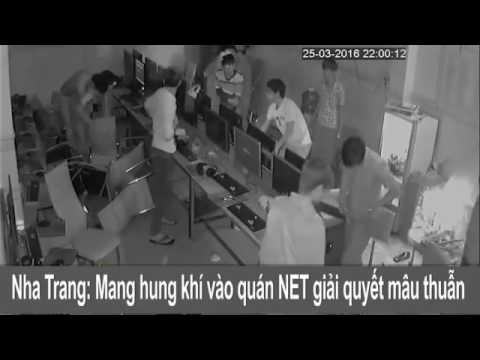 09Clip hít Chém nhau kinh hoàng trong quán NET tại Nha Trang   Khánh Hòa 2016 video giải trí vui cườ