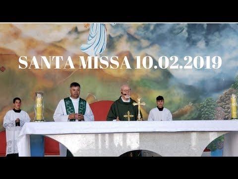 Santa Missa | 10.02.2019 | Padre José Sometti | ANSPAZ