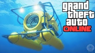 GTA Online: Submarine Location! All Secret Submarine Spots