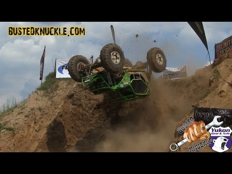 FIRST ROCK BOUNCER BACKFLIP EVER! | UNLIMITED OFF ROAD EXPO 2014