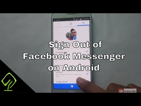 How to Sign Out of Facebook Messenger on Android