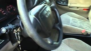 2001 Pontiac Montana Startup Exhaust & In Depth Tour