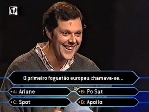 Quem Quer Ser Milionário: António Franco RTP1 2003 [pergunta 14]