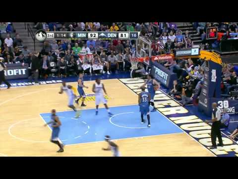 Minnesota Timberwolves vs Denver Nuggets | March 3, 2014 | NBA 2013-14 Season