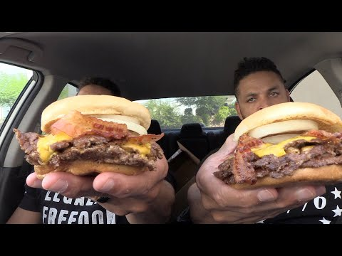 Eating Freddy's Triple Steak Burger