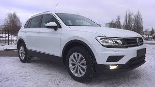Compact Crossover. 2018 Volkswagen Tiguan. Start Up, Engine, and In Depth Tour.. MegaRetr