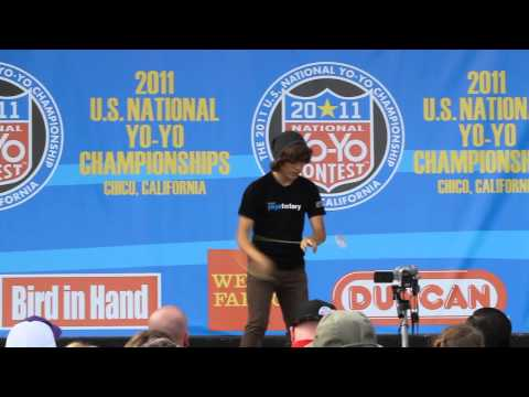 YoYoFactory Presents:Tyler Goldenburg 12th Place 1A 2011 USA National YoYo Contest