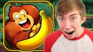 BANANA KONG (iPhone Gameplay Video)