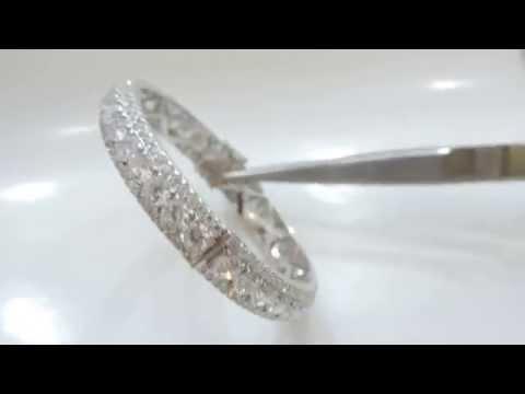 Vòng tay kim cương, vòng tay vàng trắng, vòng tay đẹp