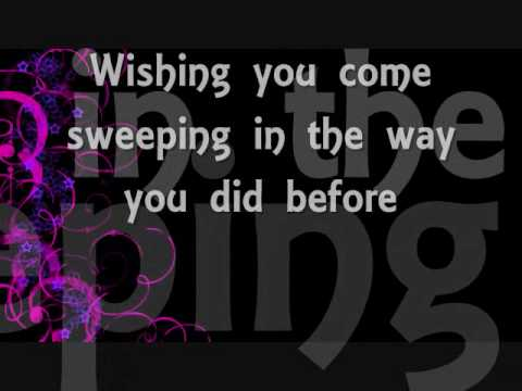 Need You Now - Lady Antebellum(lyrics)