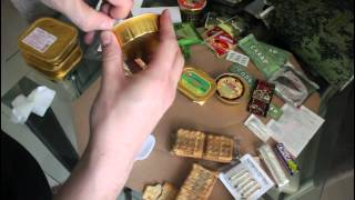 Russian MRE ration 5 - Feltration