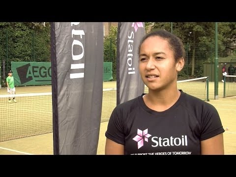 Heather Watson on Andy Murray, Laura Robson and Wimbledon