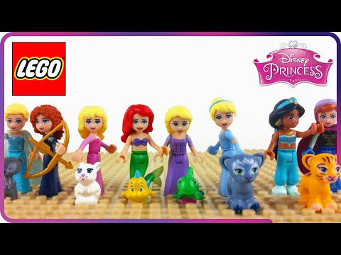 ♥ LEGO Disney Princess Compilation 2015 (Rapunzel, Cinderella, Ariel, Frozen...)