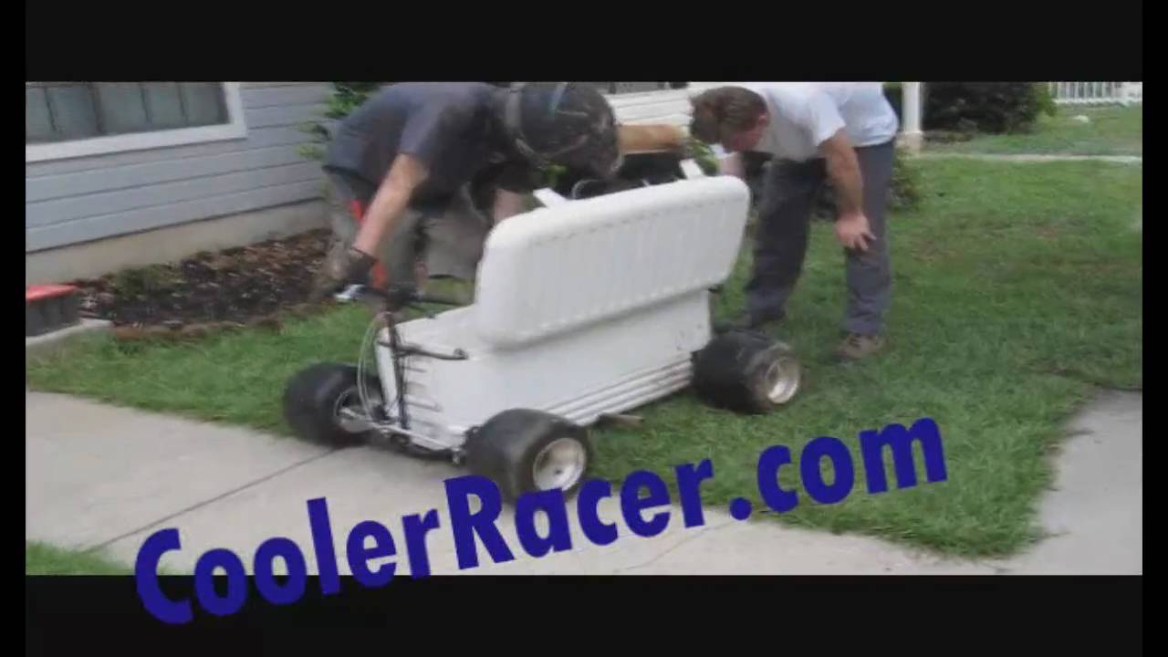 ice chest racer plans