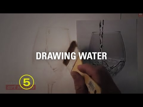 DRAW A GLASS OF WATER (Art Studio Lesson 32 Excerpt)