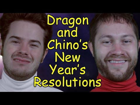 Dragon and Pretzel's New Year's Resolutions