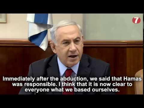 Netanyahu: Israel Ready to 'Expand' Gaza Operations