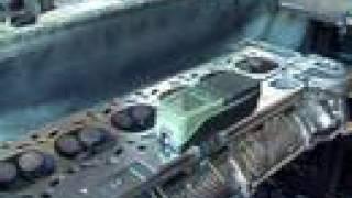 Шлифовка блока двигателя M52B25