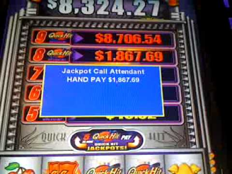 strategy for playing quick hit slot machines