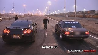 Nitrous LSx Mustang Vs Bolt On Nissan GTR