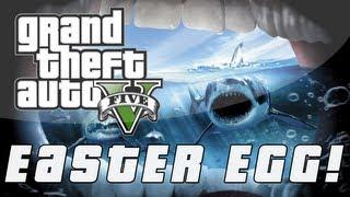"Grand Theft Auto 5 JAWS ""Orca"" Replica Easter Egg! (GTA"