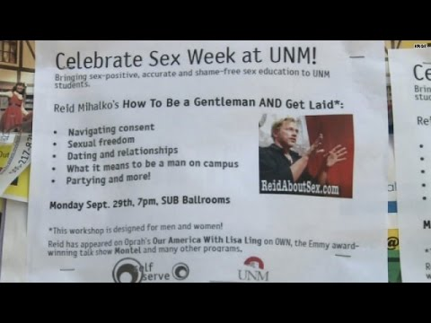 University of New Mexico's 'Sex Week' sparks outrage